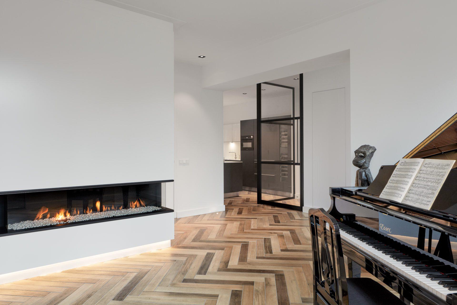 Interieurontwerp voor een appartement in Oud-Zuid Amsterdam nabij het Vondelpark door architect Maxim Winkelaar.