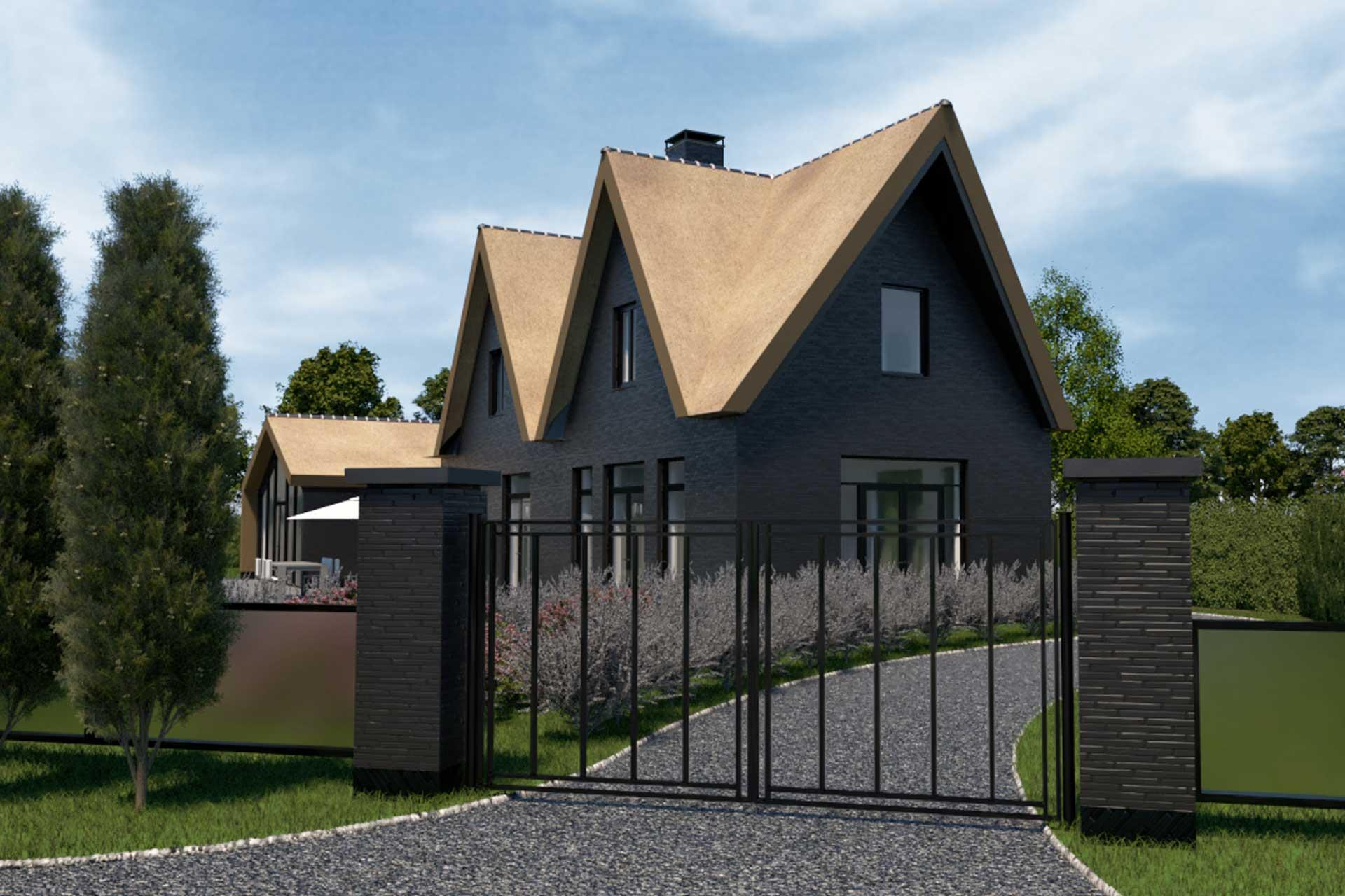 Dutch architect designs modern contemporary villa along the lake in the Netherlands, DESIGN BY Maxim Winkelaar.