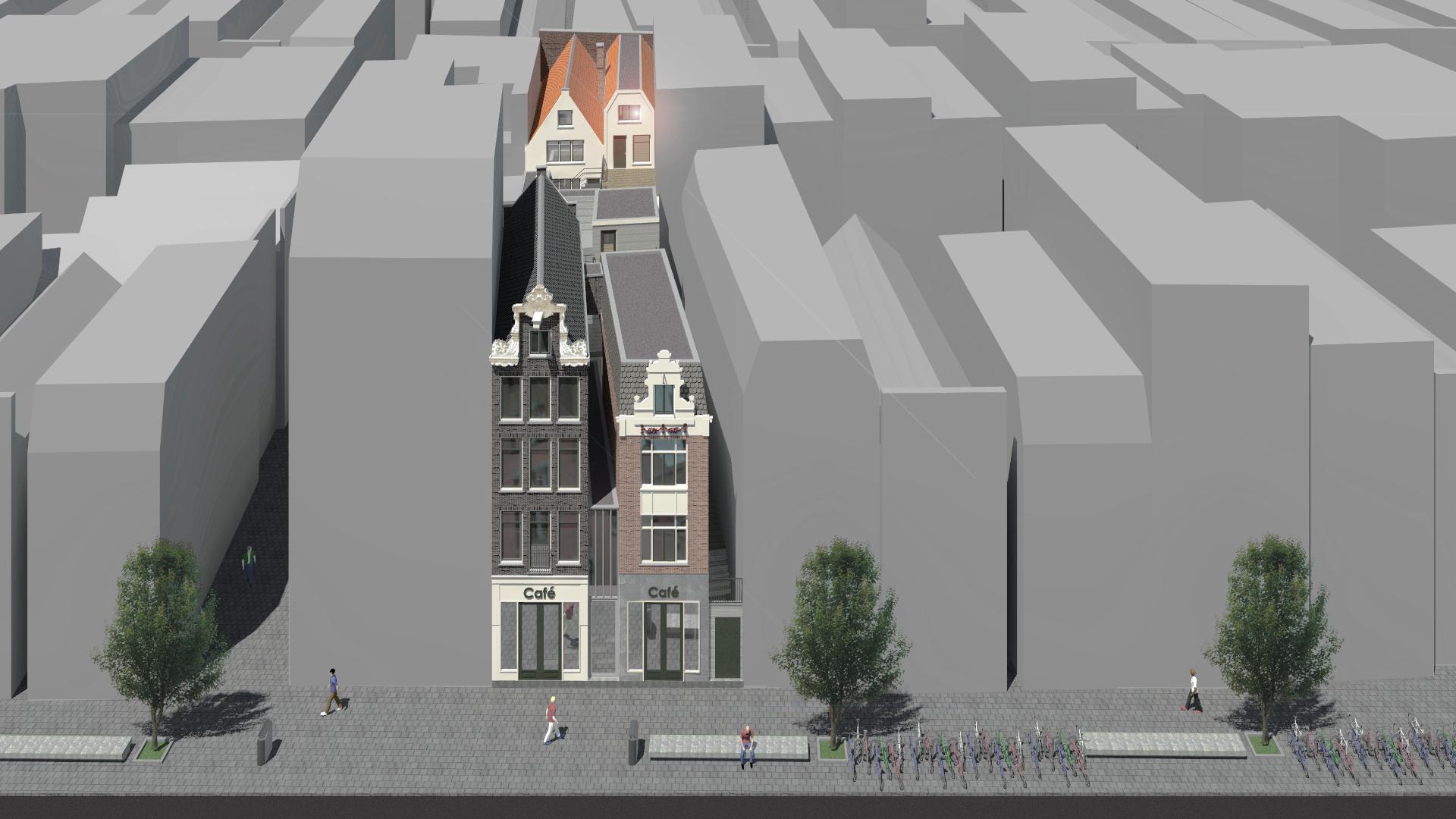 Architect Amsterdam voor renovatie, restauratie en verbouw in het centrum van amsterdam, appartemente, grachtenpanden en hotel.