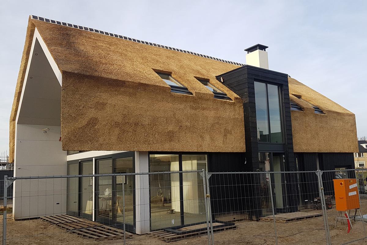 Uitvoering nieuwbouw villa abcoude