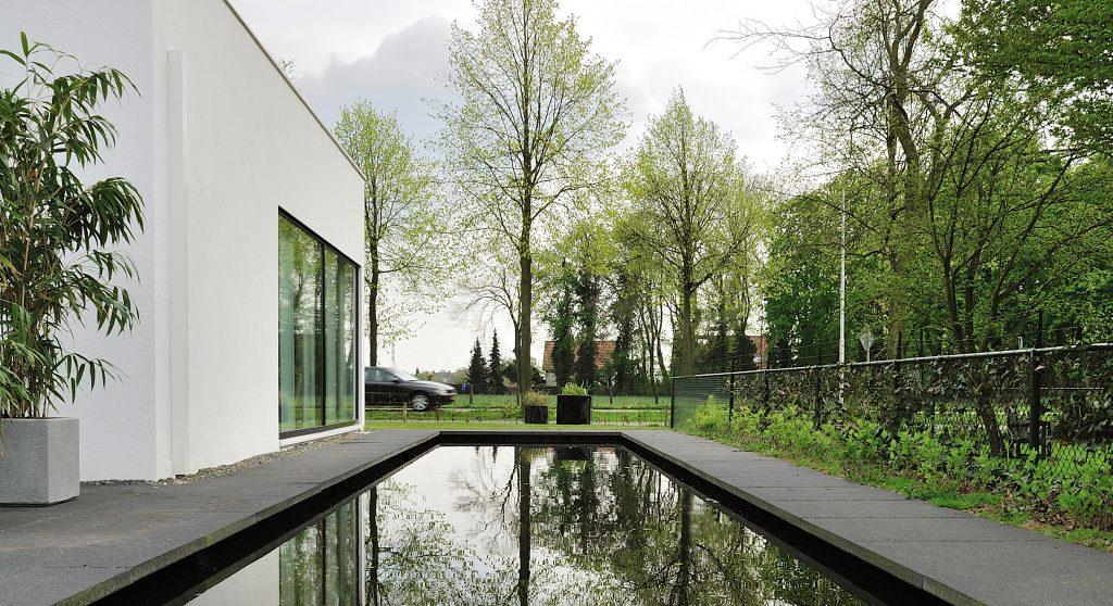 Nieuwbouw villa Bemmel ontwerp door architect Maxim Winkelaar uit Amsterdam