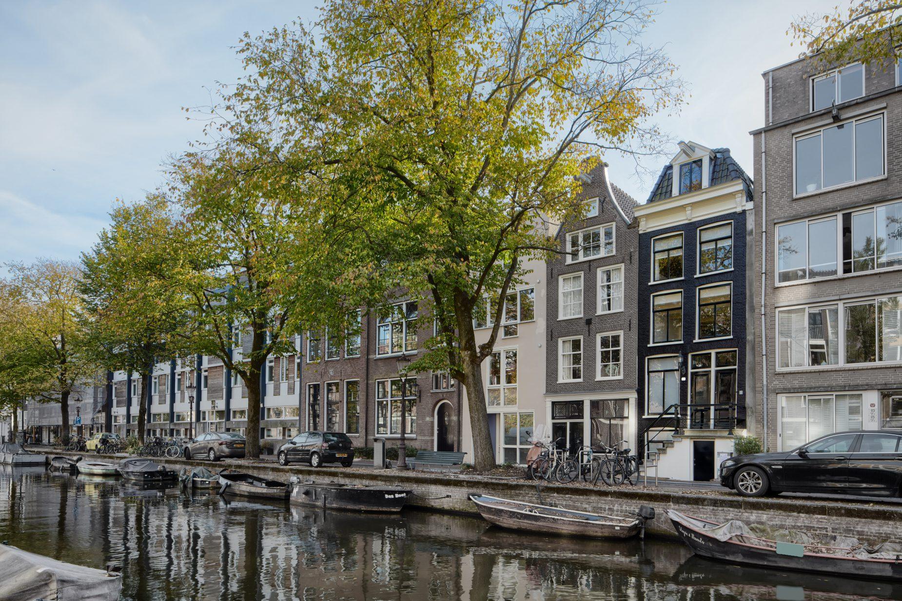 Renovatie van grachtenpand in Amsterdam gelegen in de Jordaan ontwerp met funderingsherstel door amsterdamse architect Maxim Winkelaar op Keizersgracht.