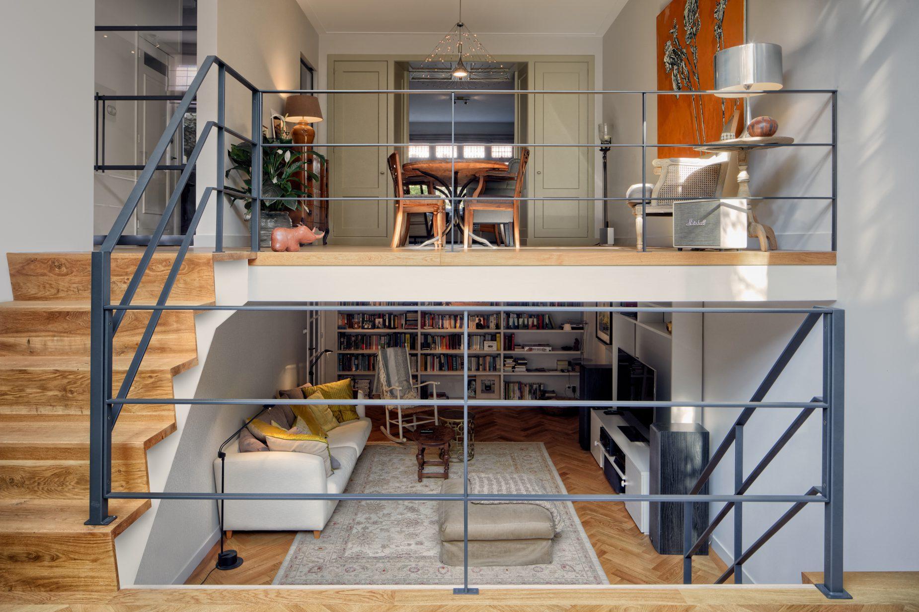 Architect in Amsterdam Oud Zuid maakt ontwerp voor verbouw en renovatie van bestaande herenhuizen en luxe appartementen.
