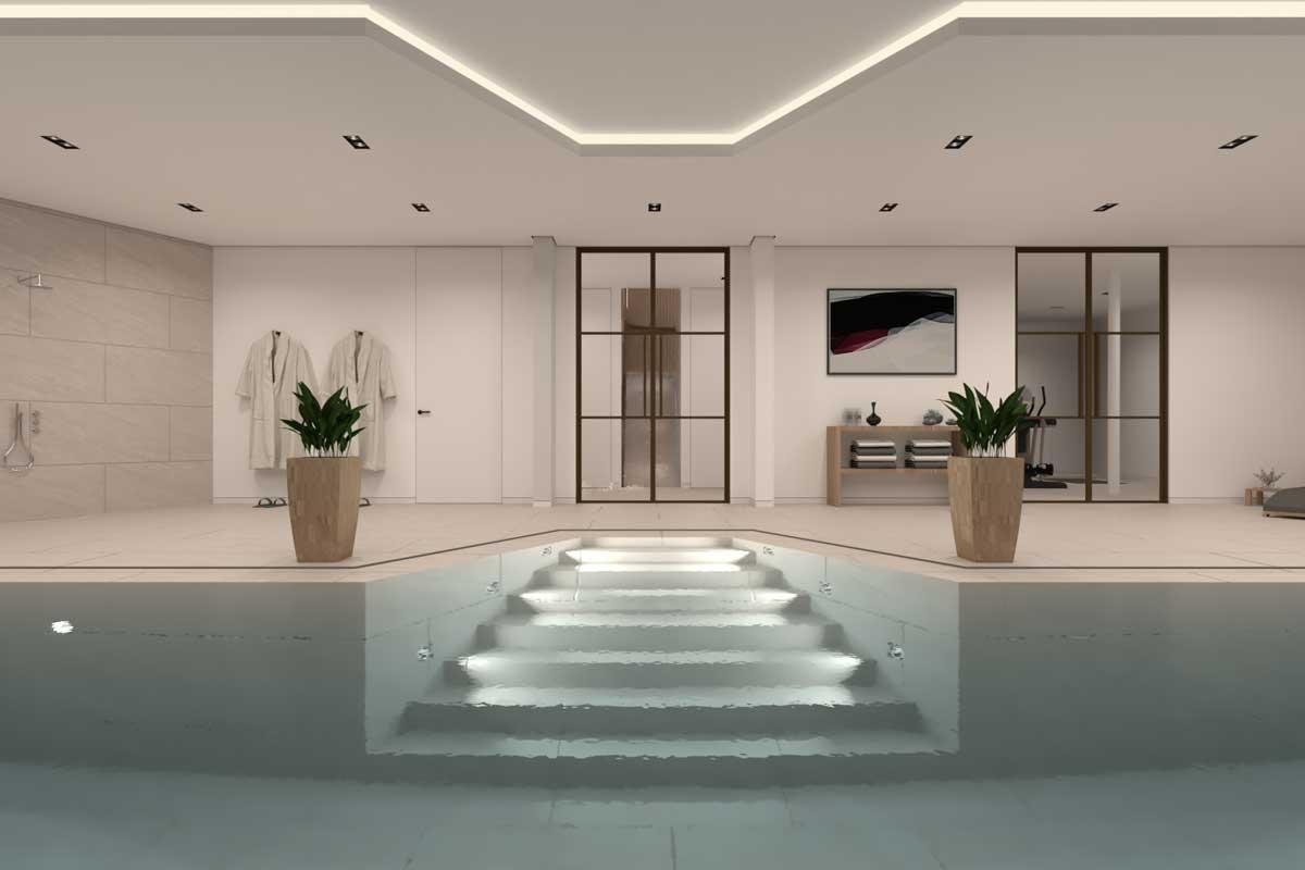 Ontwerp voor een nieuwbouwwoning in Huizen door Architect uit Amsterdam Maxim Winkelaar.