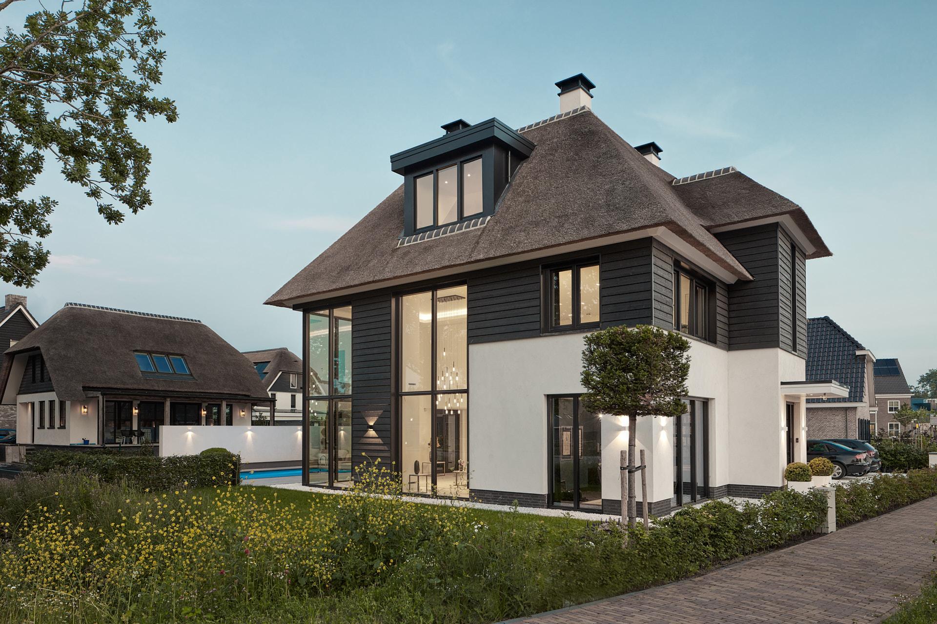 Nieuwbouwvilla Haarzicht door architect Maxim Winkelaar