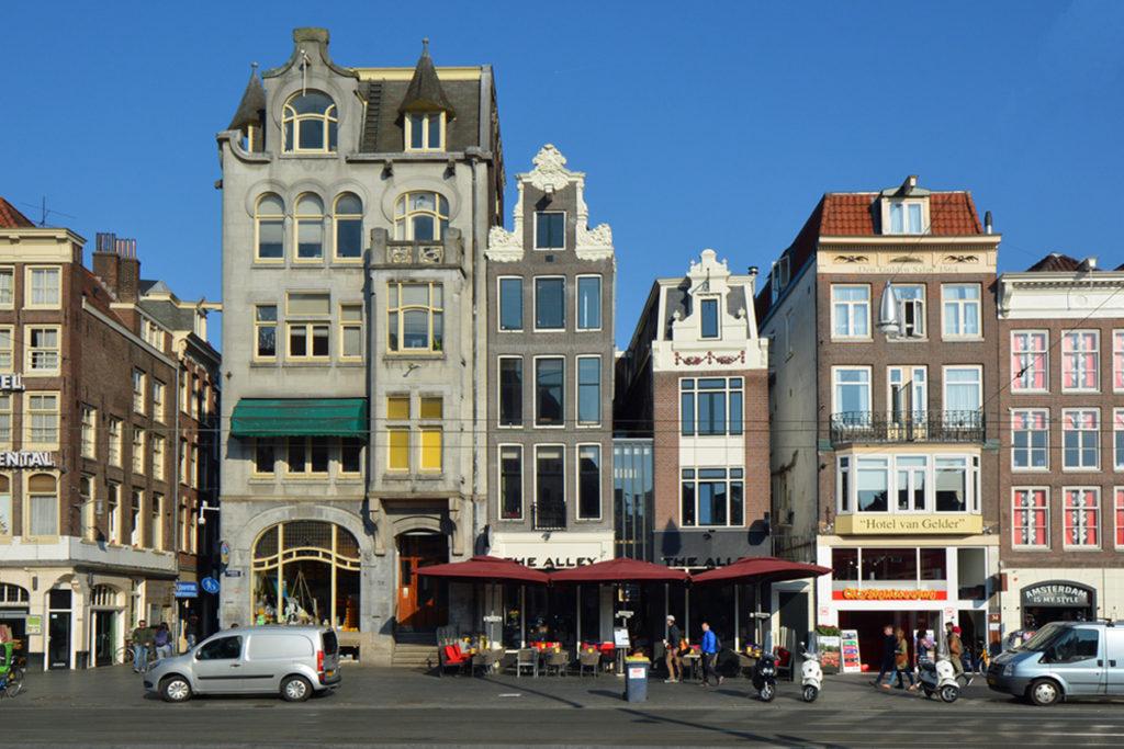 Architect Boutique hotel Damrak in centrum van Amsterdam.